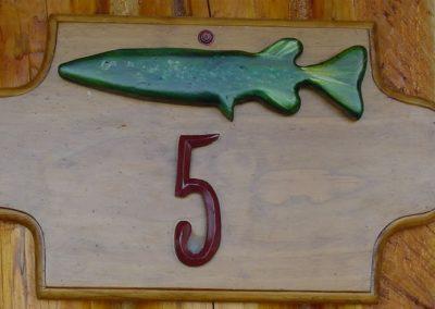 cabin-5-sign