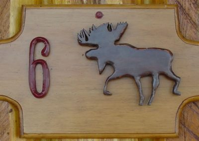 cabin-6-sign